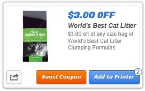 world best cat litter coupon printable
